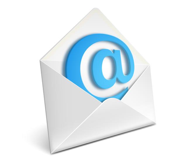 l'email spegne 50 candeline!